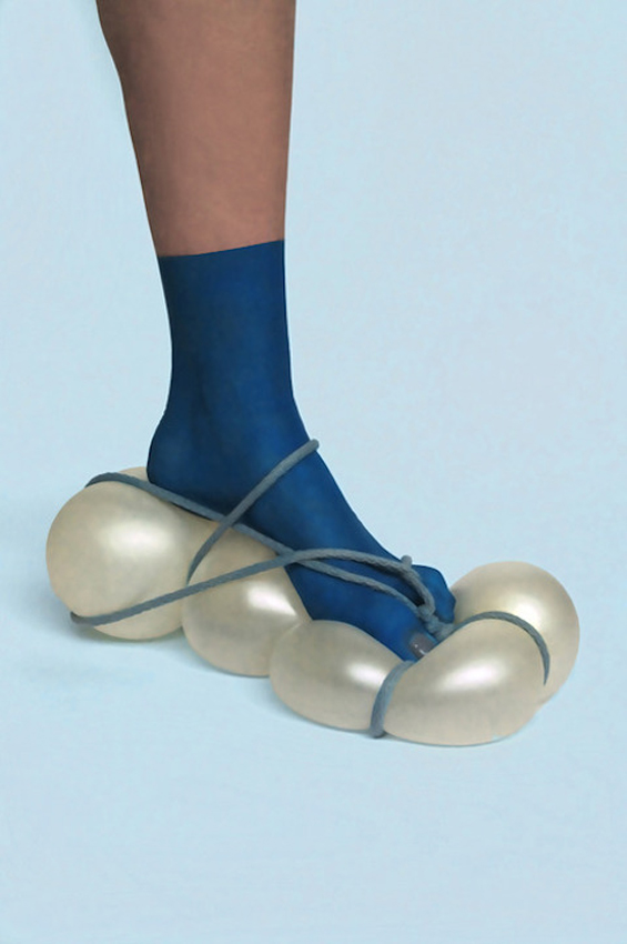 Mandy Roos Reimagines Retro Sci-Fi Footwear