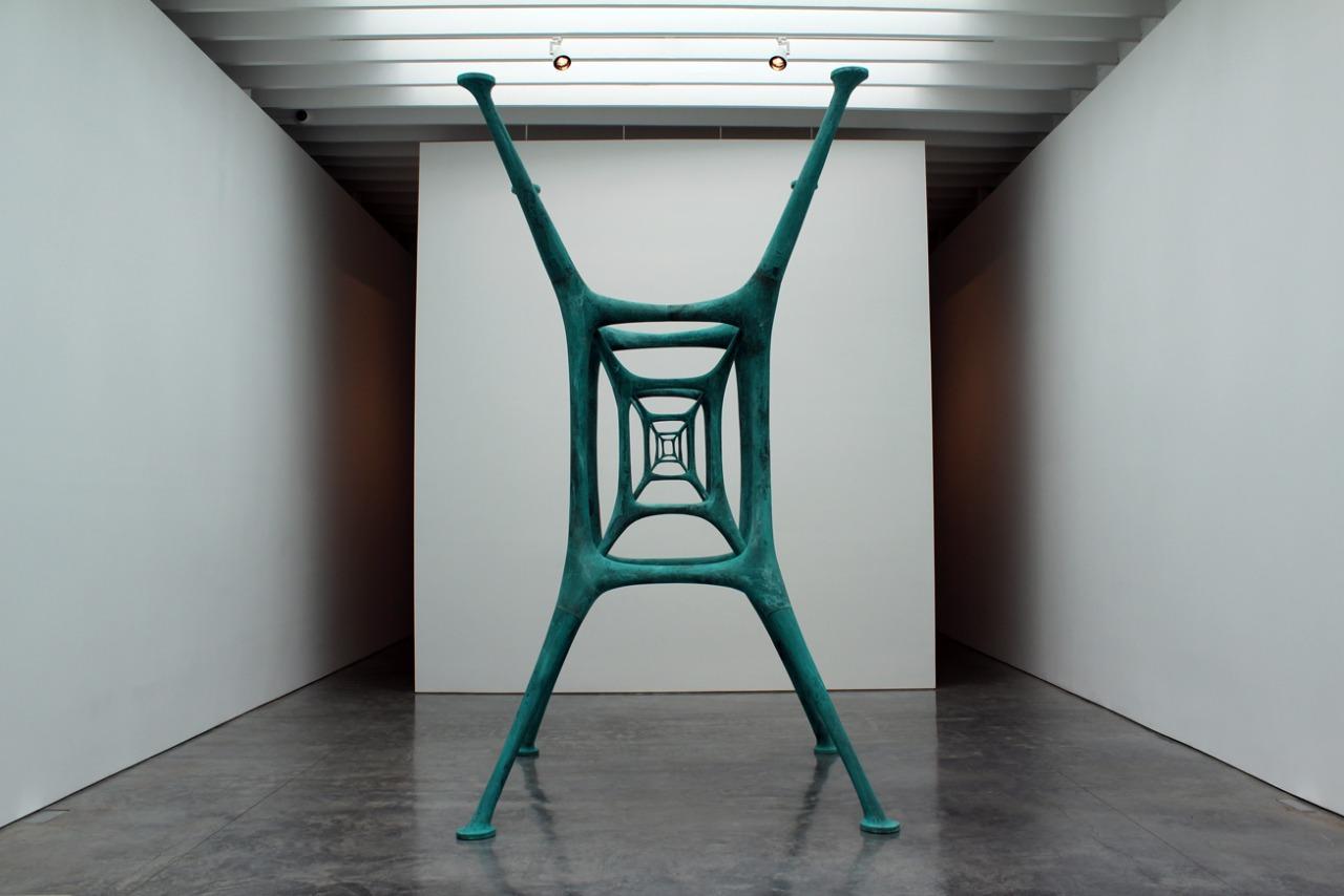 Brazilian sculptor and painter Saint Clair Cemin