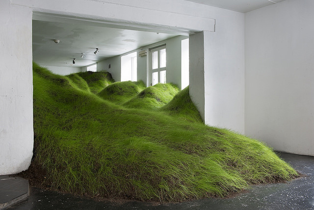 Per Kristian Nygård Invades Indoor Spaces with Plant Life Installations