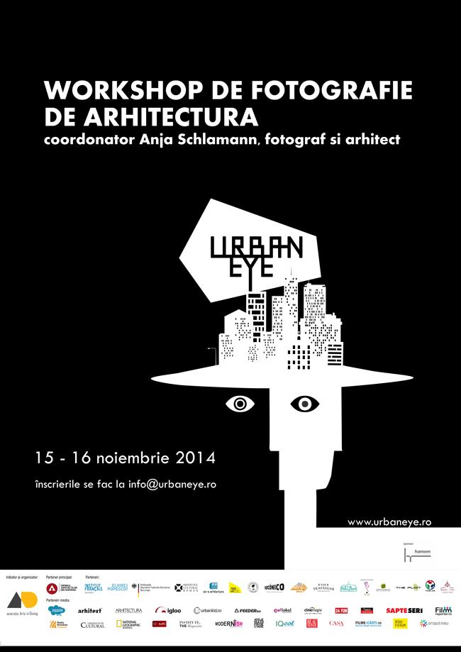 Workshop de fotografie de arhitectură la UrbanEye Film Festival