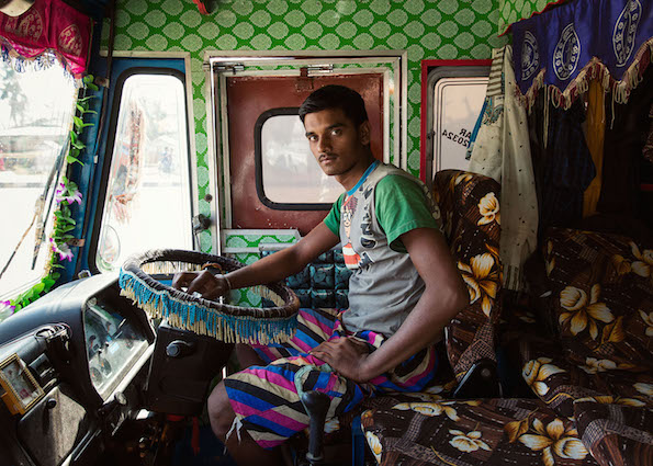 Dan Eckstein Captures The Splendor And Eccentricity Of India's Hand Painted Technicolor Trucks