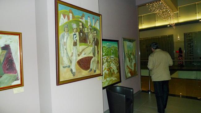 Expoziţia GENERATIA 60 si RECUPERAREA AVANGARDEI @ Golden Gallery, Baia Mare (1)