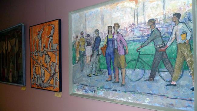 Expoziţia GENERATIA 60 si RECUPERAREA AVANGARDEI @ Golden Gallery, Baia Mare (5)