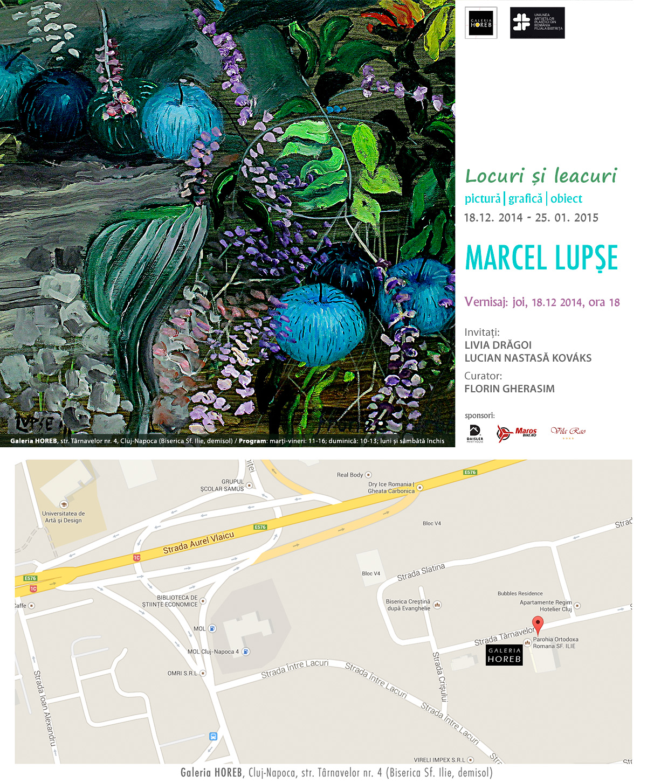 Locuri și leacuri –  Marcel Lupșe @ Galeria HOREB, Cluj