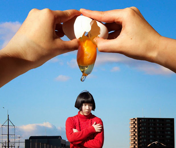 Izumi Miyazaki Creates Humorously Surreal Photos Out Of Mundane Moments