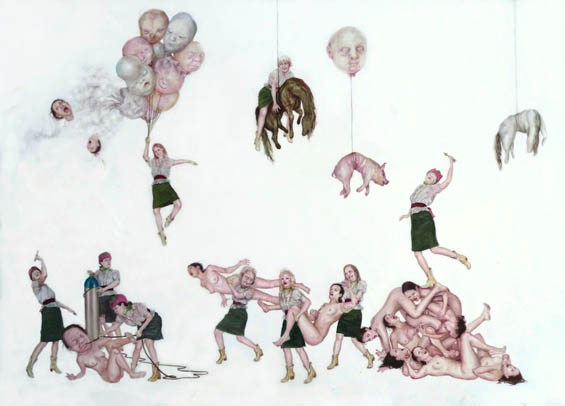 Monica Cook's Weird And Wonderful Drawings Explore The Revolting Side Of Humanity