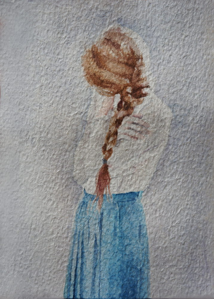 Longing,acuarela pe hartie, 23X16.5cm, 2014