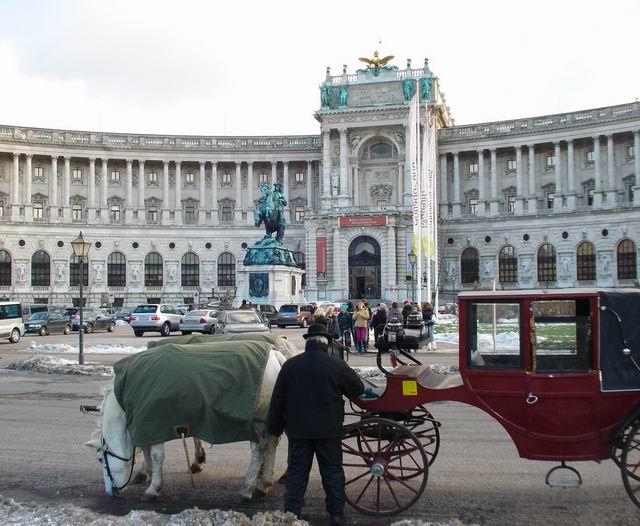 Resize of 17 Palatul Hoffburg cu caleasca de rigoare