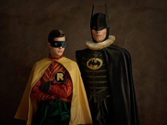 "Sacha Goldberger's ""Super Flemish"" Portrays 17th Century Superheroes"