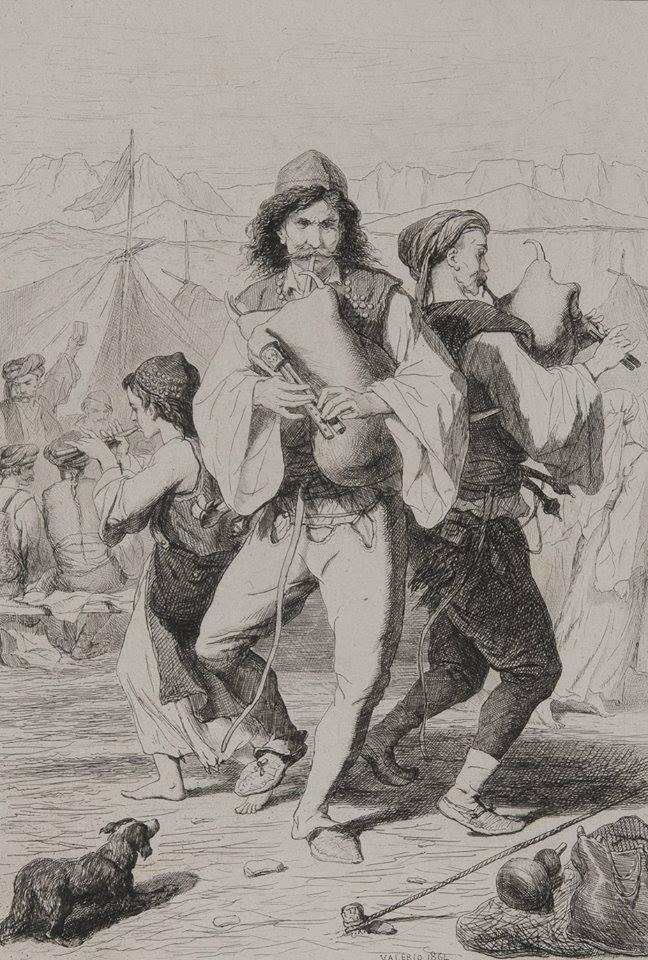 """""""Un călător francez în Balcani: Théodore Valério"""" @ Muzeul Naţional de Artă al României"""
