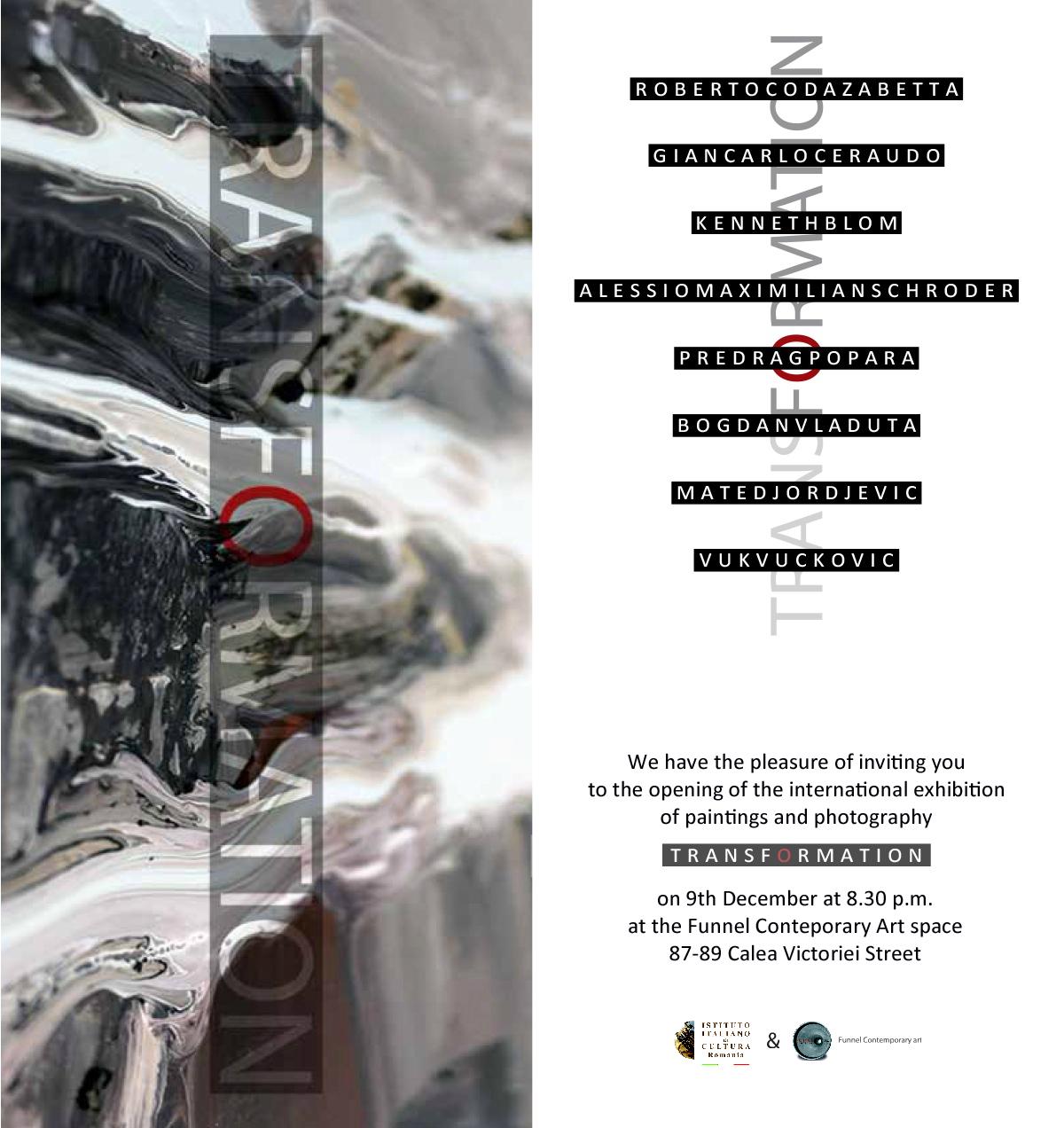 """Transformation"" BELGRADE – BUCHAREST Project Exhibition"