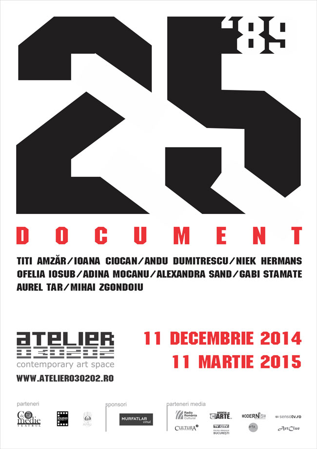 """25. document"" @ ATELIER 030202, București"