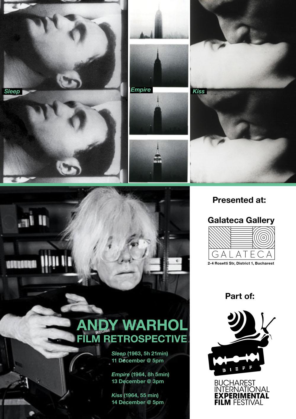 Retrospectivă Andy Warhol @ Galateca, București