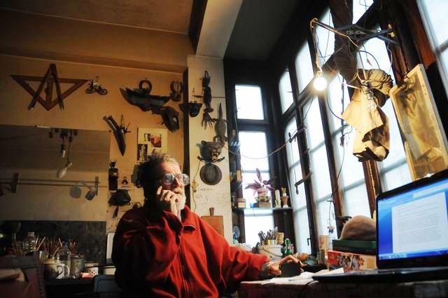 Andrei Romocean – vizita in atelier