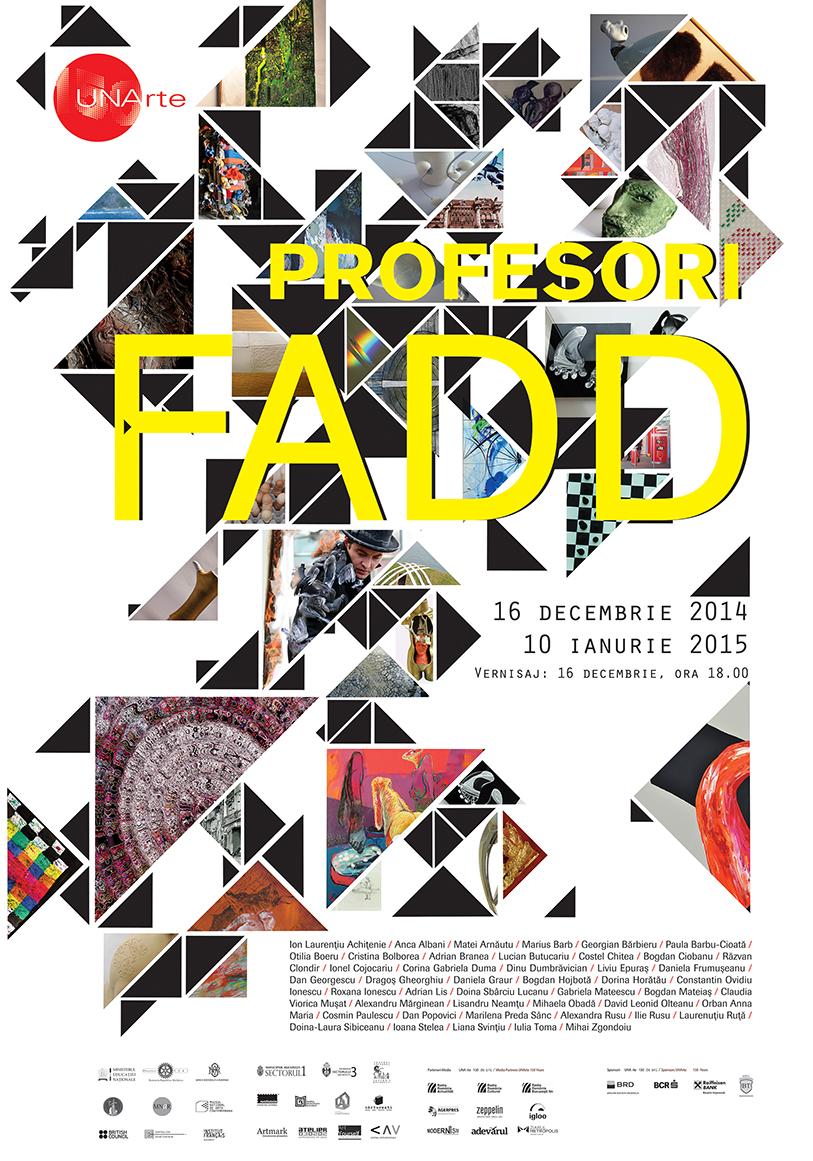 """Expoziția """"Profesori FADD"""" @ Centrul Artelor Vizuale din București"""
