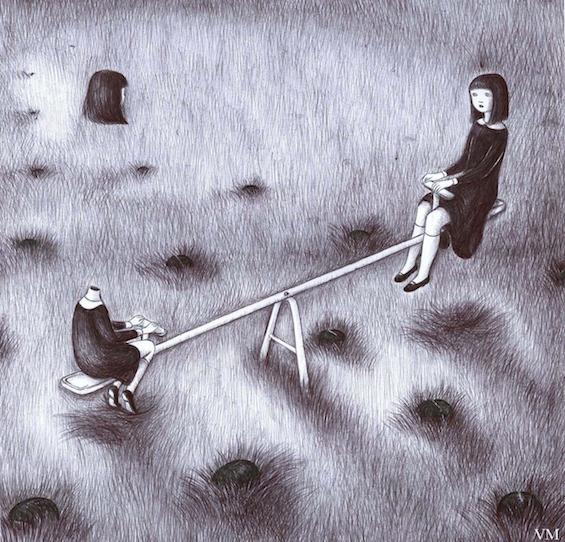 Virginia Mori's Dark, Surreal Illustrations Of Headless Women