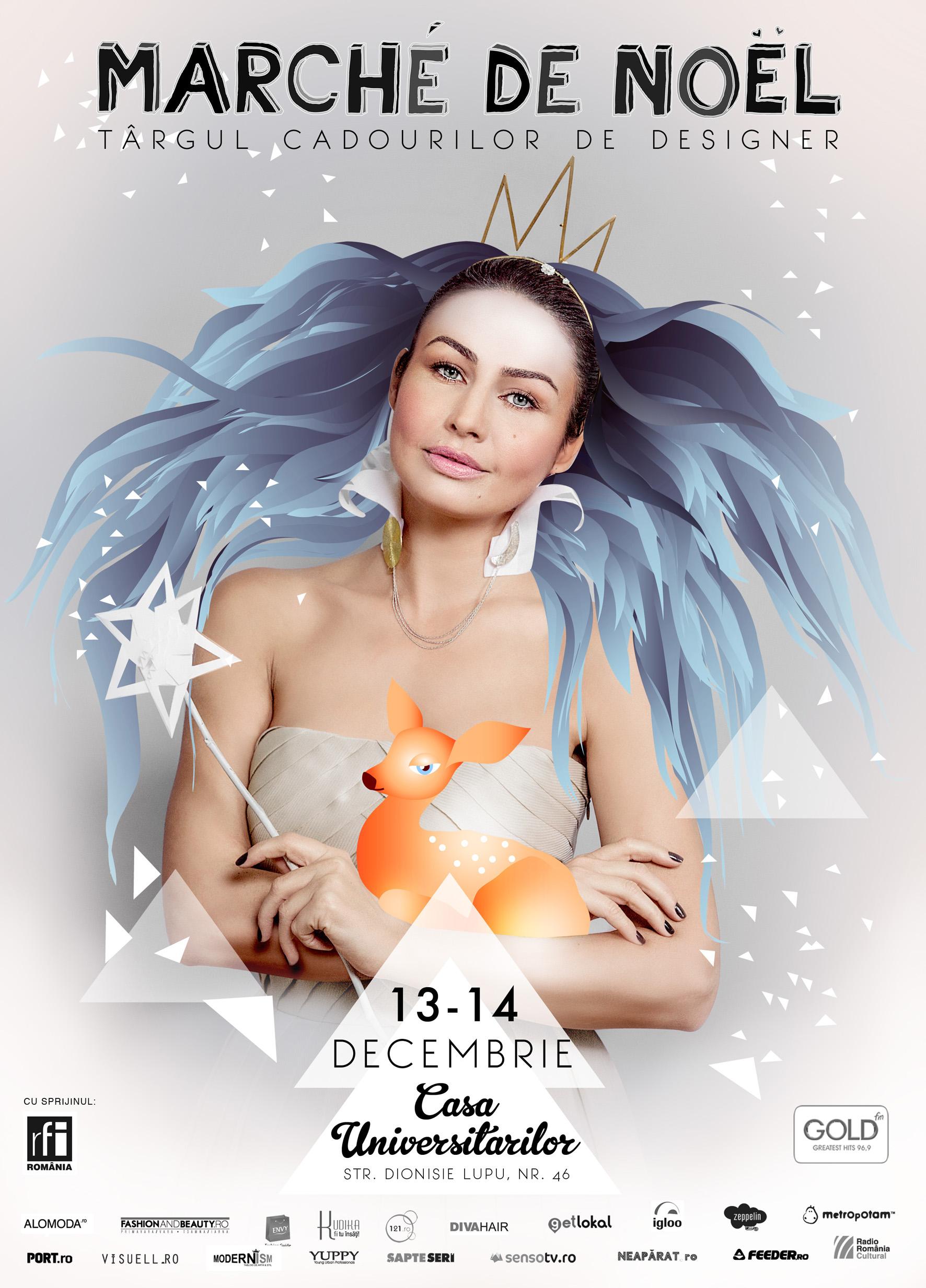 Marché de Noël  – Târgul cadourilor de designer @ Casa Universitarilor, București