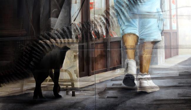 "Mirela Iordache ""Squanderers / Risipitori"" @ GO Art Projects, București"
