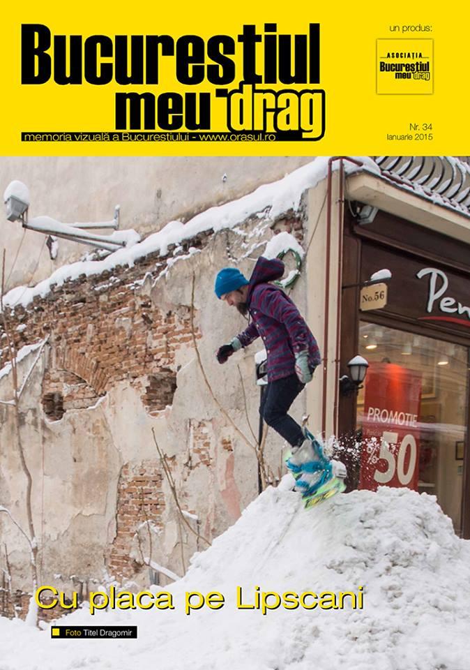 """Numarul 1/2015 al Revistei """"Bucurestiul meu drag"""""""