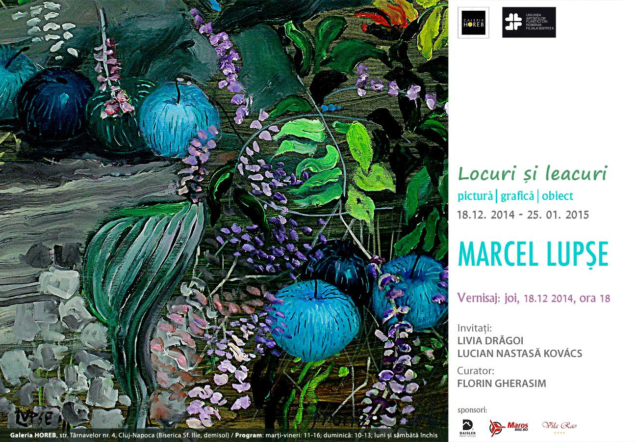 Locuri şi leacuri – Marcel Lupşe @ Galeria HOREB, Cluj Napoca