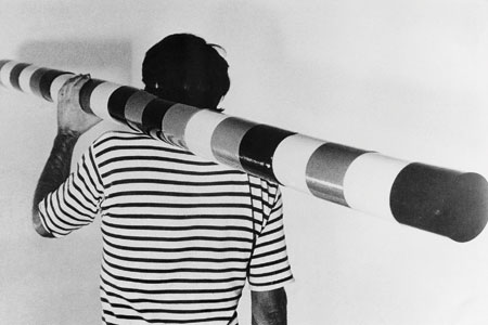 Andrei Cădere, în marea restrospectivă a artei abstracte de la Whitechapel Gallery, Londra