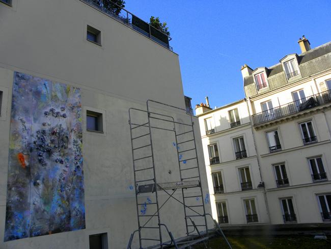Cristian Sida, lucrare monumentala realizata la Paris (1)