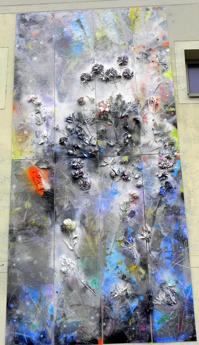Cristian Sida, lucrare monumentală realizată la Paris, rue Violet no 3