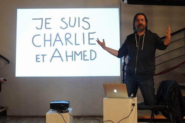 Dan Perjovschi – Workshop in cadrul IEEB6