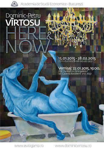 """Dominic Virtosu """"HERE & NOW @ Academia de Studii Economice, București"""