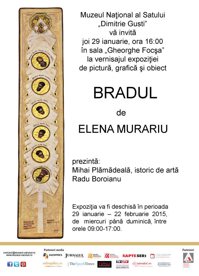"Elena Murariu ""Bradul"" @ Muzeul Naţional ""Dimitrie Gusti"""