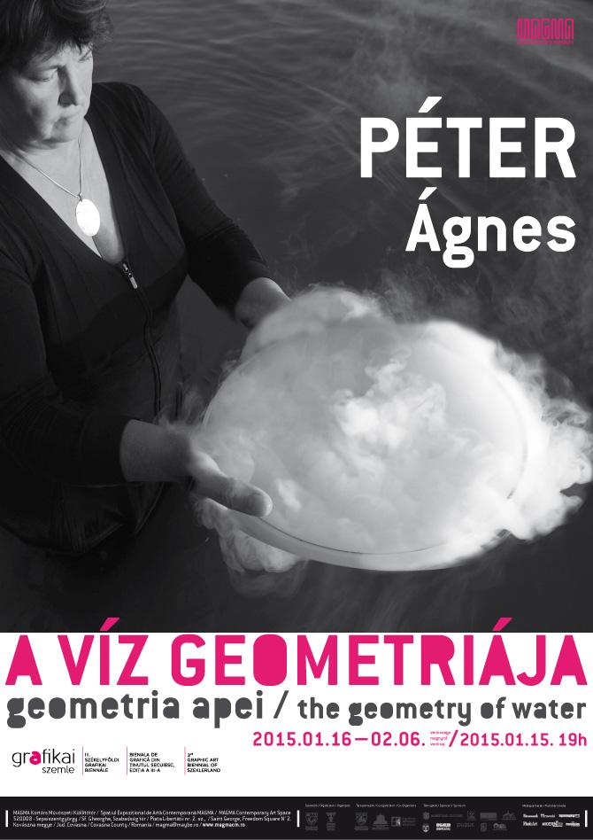 """Ágnes PÉTER """"Geometria apei""""  @ MAGMA, Sfântu Gheorghe"""