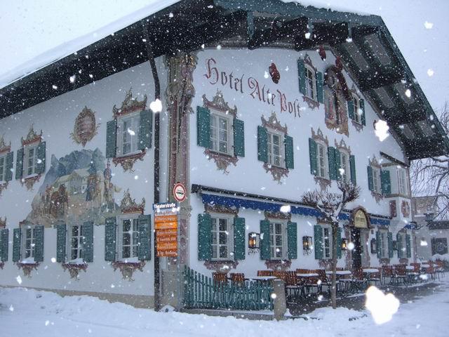 Oberammergau, între Passionspiele şi Holtzschnizerei