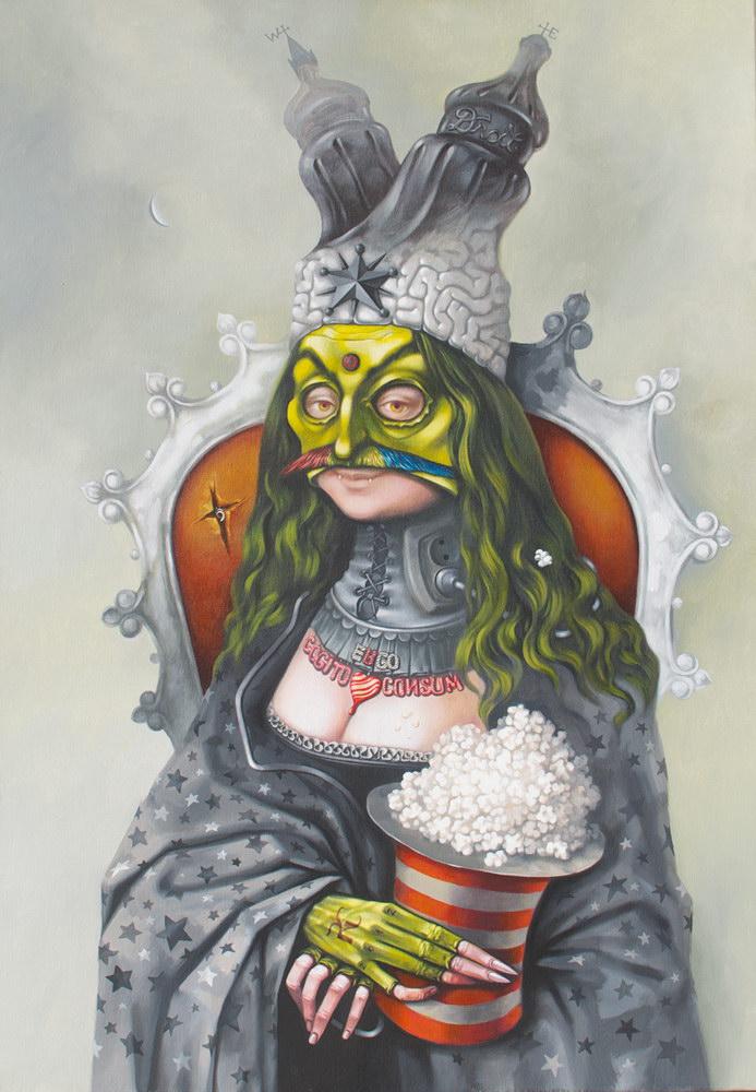 Dracolax + / Radu Carnariu și Ad Fractal Infinitum / Cristiana Negoescu @ Art Yourself Gallery, București