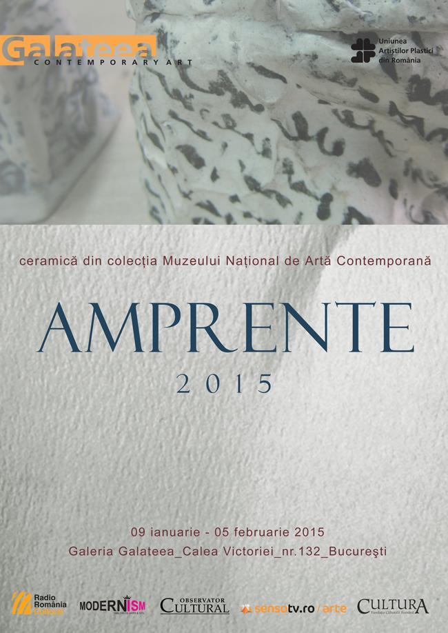 """Expoziția """"Amprente II"""" @ Galeria Galateea, București"""
