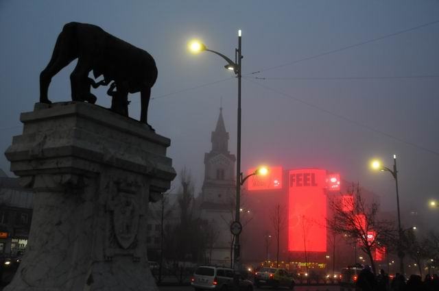Bucharest postard
