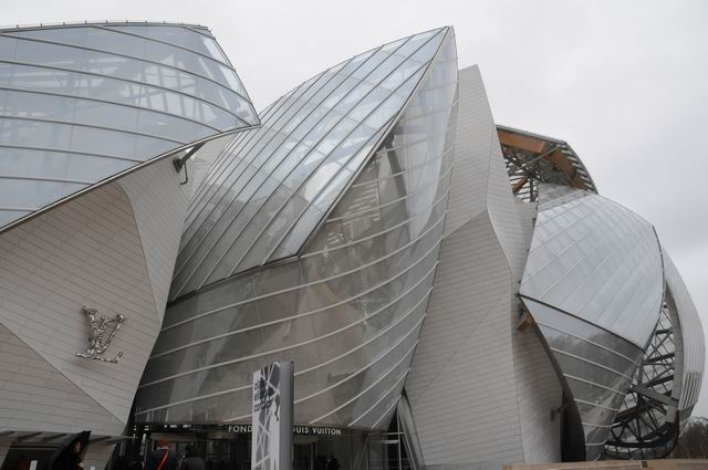 Louis Vuitton Foundation @ Paris