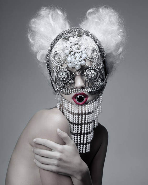 "Paco Peregrín's Photography Transforms High Fashion Models Into ""Beautiful Monsters"""
