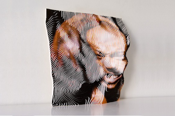 Stefanie Herr's Photographic Sculptures Resemble Topographic Maps