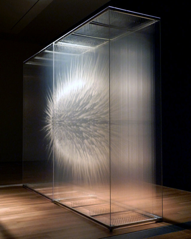 David Spriggs's Optical Installations Create 3D Illusions