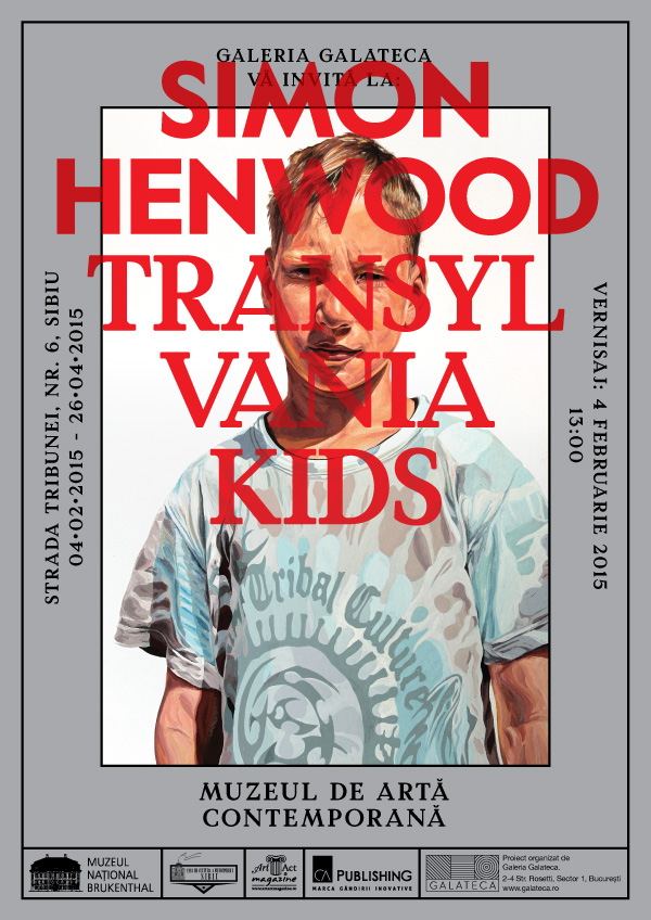"Simon Henwood – ""Transylvania Kids"" @ Muzeului BRUKENTHAL"