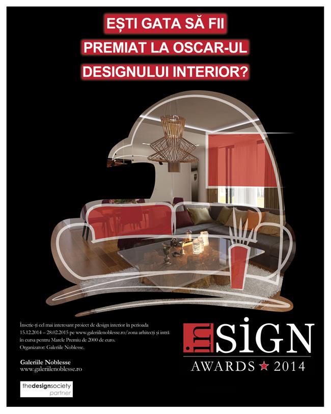 Inscrie-te la concursul de design interior Insign Awards, Editia a V-a!
