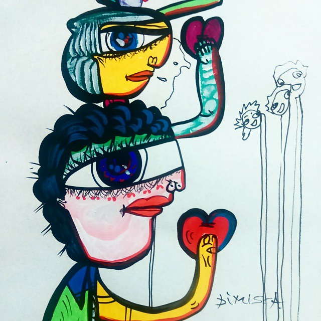 """""""Dragoste"""" pentru artă @ Dimișcă Studio/Gallery București"""