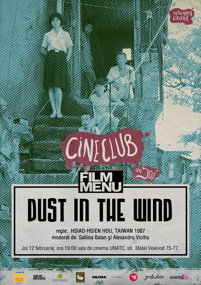 Dust in the Wind @ Cineclub Film Menu, sala de cinema a UNATC București