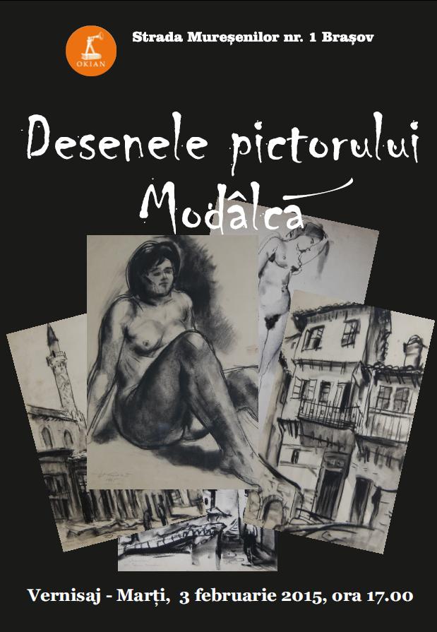 """Premieră: Erotism şi Geometrie pe simeze braşovene: """"Desenele pictorului Eftimie Modâlcă"""""""