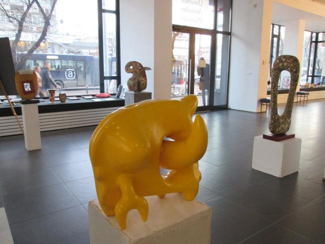 """Paul Covaci """"Mai mult sau mai puțin abstract"""" @ Galeria de artă UAPR Baia Mare"""