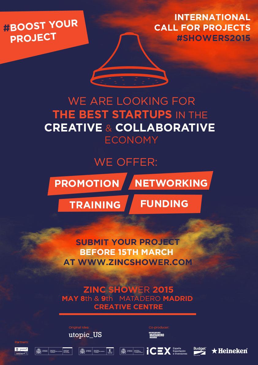 Zinc Shower – evenimentul internațional dedicat  Economiei Colaborative și Creative. Înscrie-te!