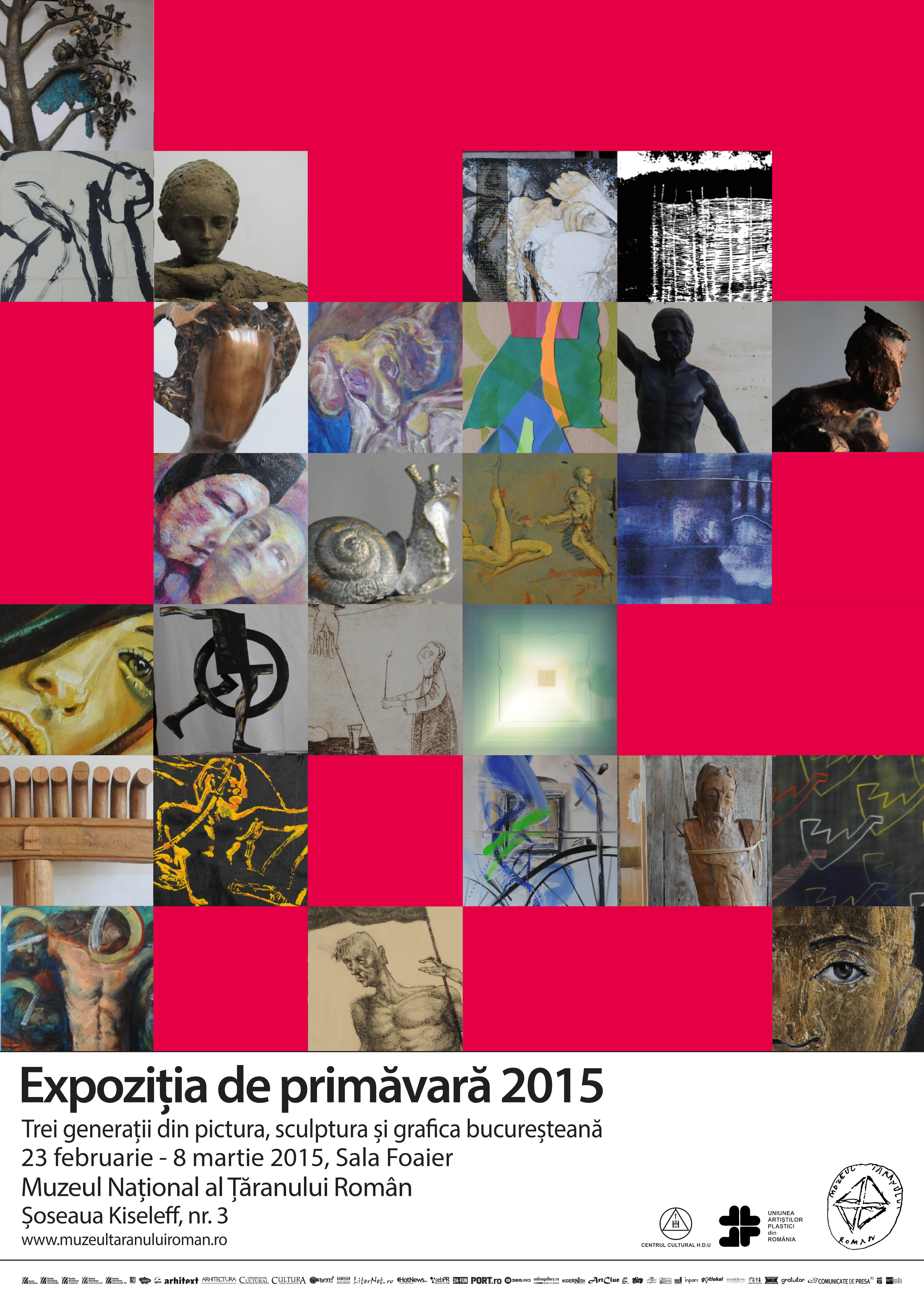 Vernisajul Expoziției de Primăvară 2015