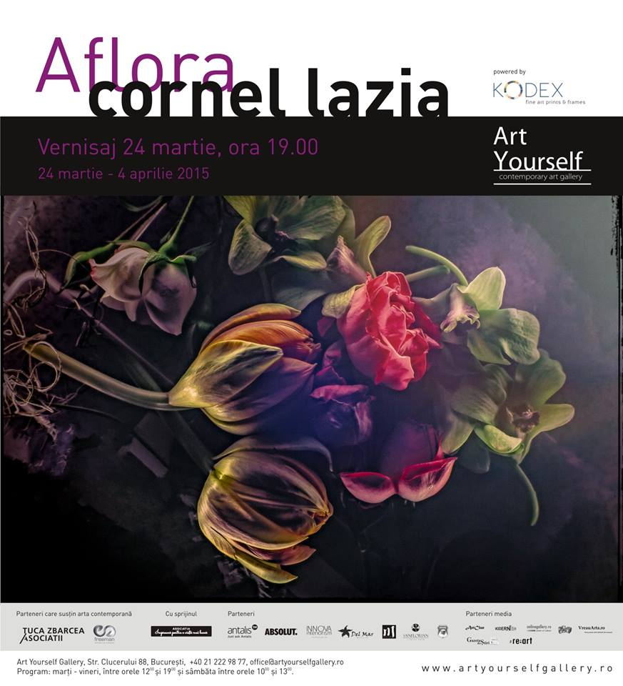 Cornel Lazia – Aflora @ ArtYourself Gallery
