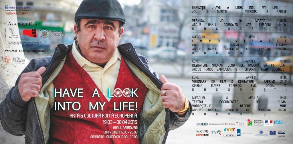 Have a look into my life! Artă și cultură romă europeană @ ARCUB