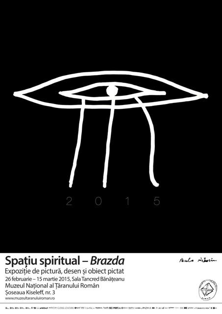 Paula Ribariu – Spațiul spiritual – Brazda @ Muzeul Naţional al Ţăranului Român